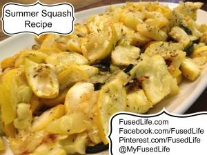 Summer Squash Recipe